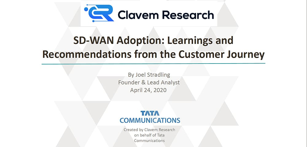 SD-WAN Adoption: Learnings & Recommendations from Clavem Research
