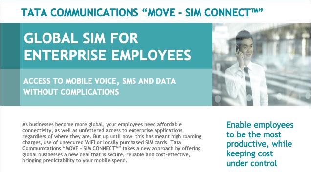 Global SIM for Enterprise Employees