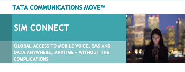 Tata Communications MOVE™ Sim Connect