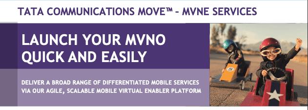 Tata Communications MOVE™ – MVNE Services