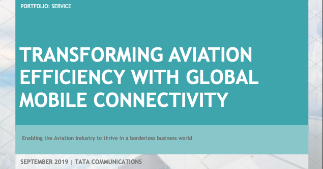 Transforming Aviation Efficiency With Global Mobile Connectivity