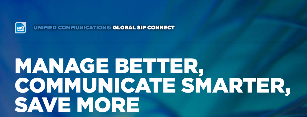 Unified Communications: Global Sip Connect