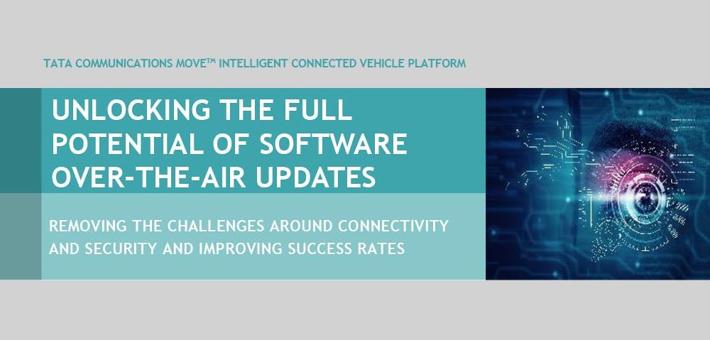 Tata Communications MOVE™ Intelligent Connected Vehicle Platform – SOTA Optimization