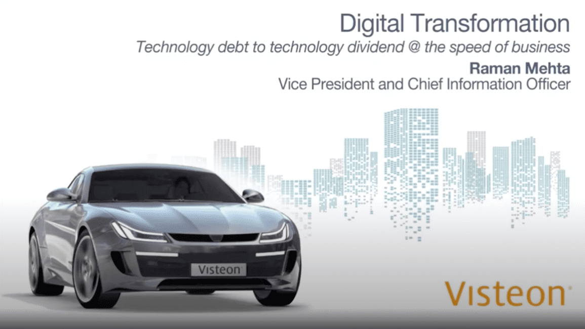 Learn how Tata Communications helped accelerate Visteon's digital transformation