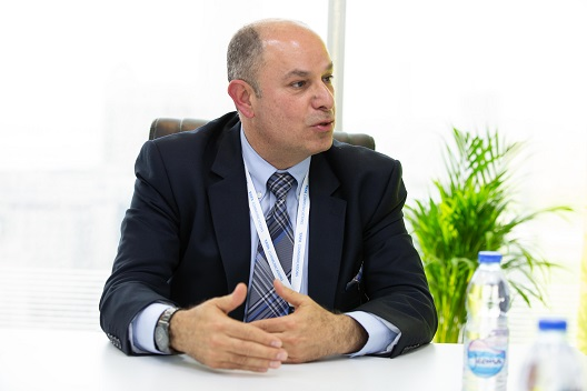 Radwan Moussalli, Senior VP at Tata Communications for Middle East, Central Asia and Africa
