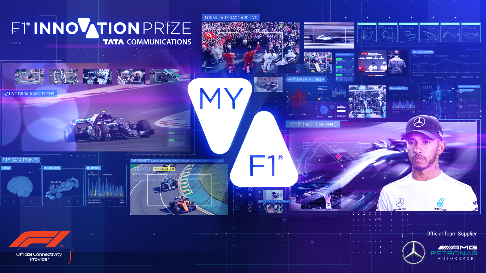 Mercedes-AMG Petronas Motorsport Driver and four-time FIA Formula 1® Drivers' World Champion, Lewis Hamilton